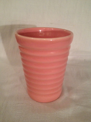 TUMBLER(BAUER POTTERY)   #PINK