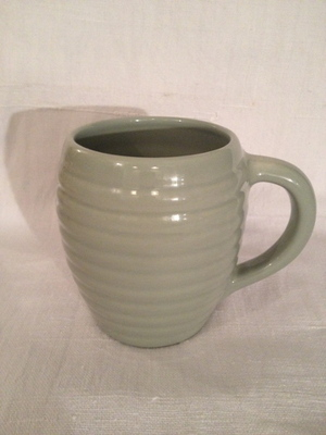 COFFEE MUG(BAUER POTTERY)  #METHANE BLUE