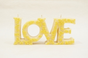 BeeMyCandle LOVE/Gold