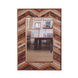 - One of a Kind - Reclaimed Mirror-  < Cripple Creek >