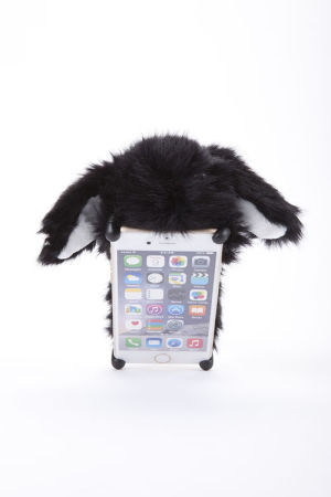 ZOOPY ロップイヤー 黒 【6s Plus/6 Plus】