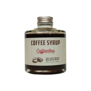 COFFEE SYRUP / caffein less