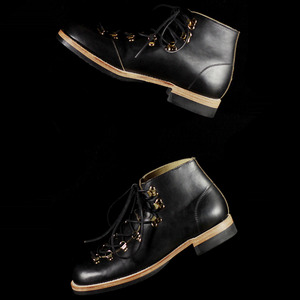 U.S. OIL LEATHER MOUNTAIN BOOTS