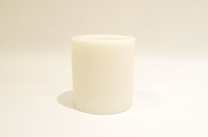 BeeMyCandle Simple Piller Vase/White
