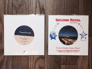 """Superfriends / Before the Night Falls EP (7"""")"""