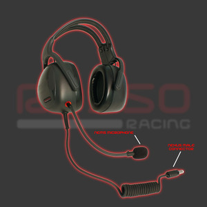 ROSSO Racingヘッドセット HS-10-PRO