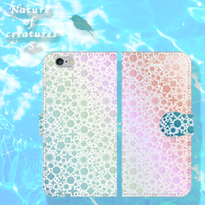 Nature of creatures ~S~ タイプC 手帳型 iPhone/Android