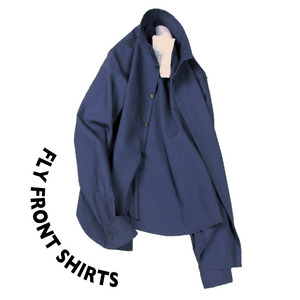 Fly front shirts SP [ Navy ]