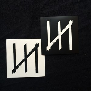 MERZ-0008 N-logo Sticker set