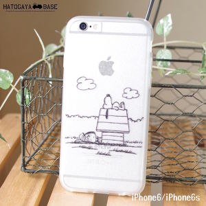 iPhone6sケース SNOOPY & Peppermint Patty [I6SSNPP1]