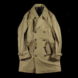 UNDECORATED TRENCH MIDDLE COAT BEIGE