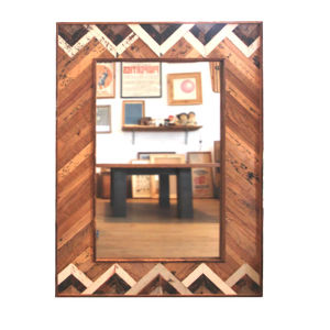 - One of a Kind -  Reclaimed Mirror  < Rolling Hills>