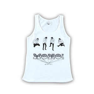ROCK STAR TANKTOP FOR GIRL(OFF-WHITE)