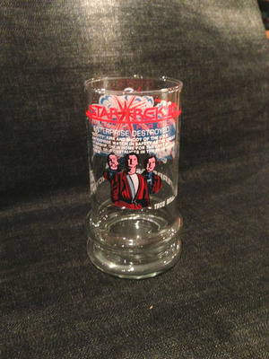 【TACO BELL】 STAR TRECK Antique Glass 1984