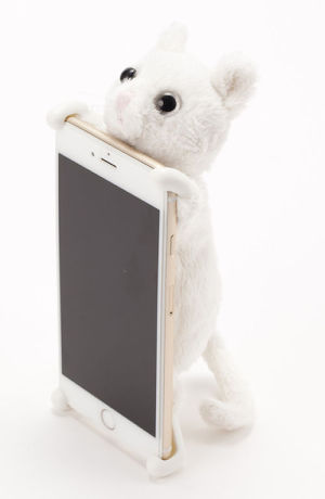 ZOOPY home ネコ シロ【6s Plus/6 Plus】