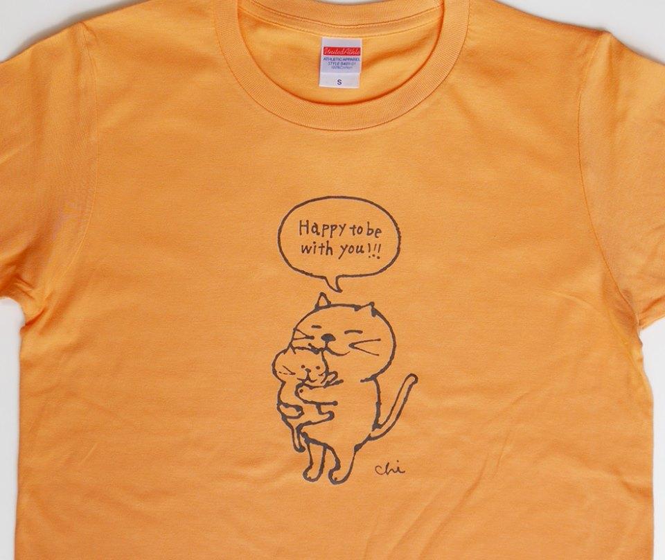 [だっこねこ] Tシャツもできました!  m(=^^=)m