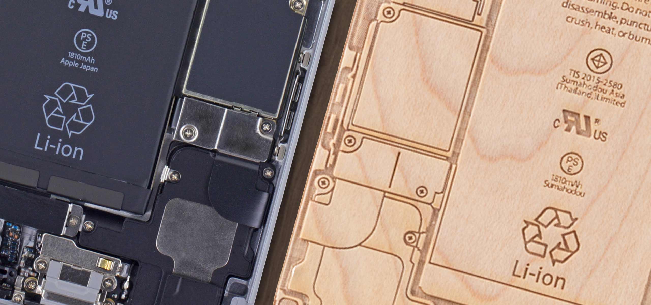 iPhone6/6s用 iPhone基盤ケースができるまで