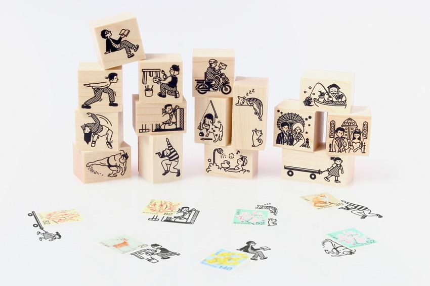 【切手のこびと】新シリーズの販売がはじまりました!