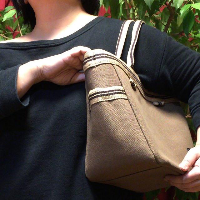 【 帆布かばん ピクニックバッグ 】