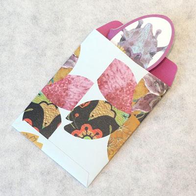 蝶と桜のポチ袋