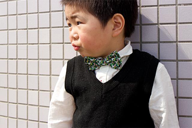 蝶ネクタイをデイリーユース!!!