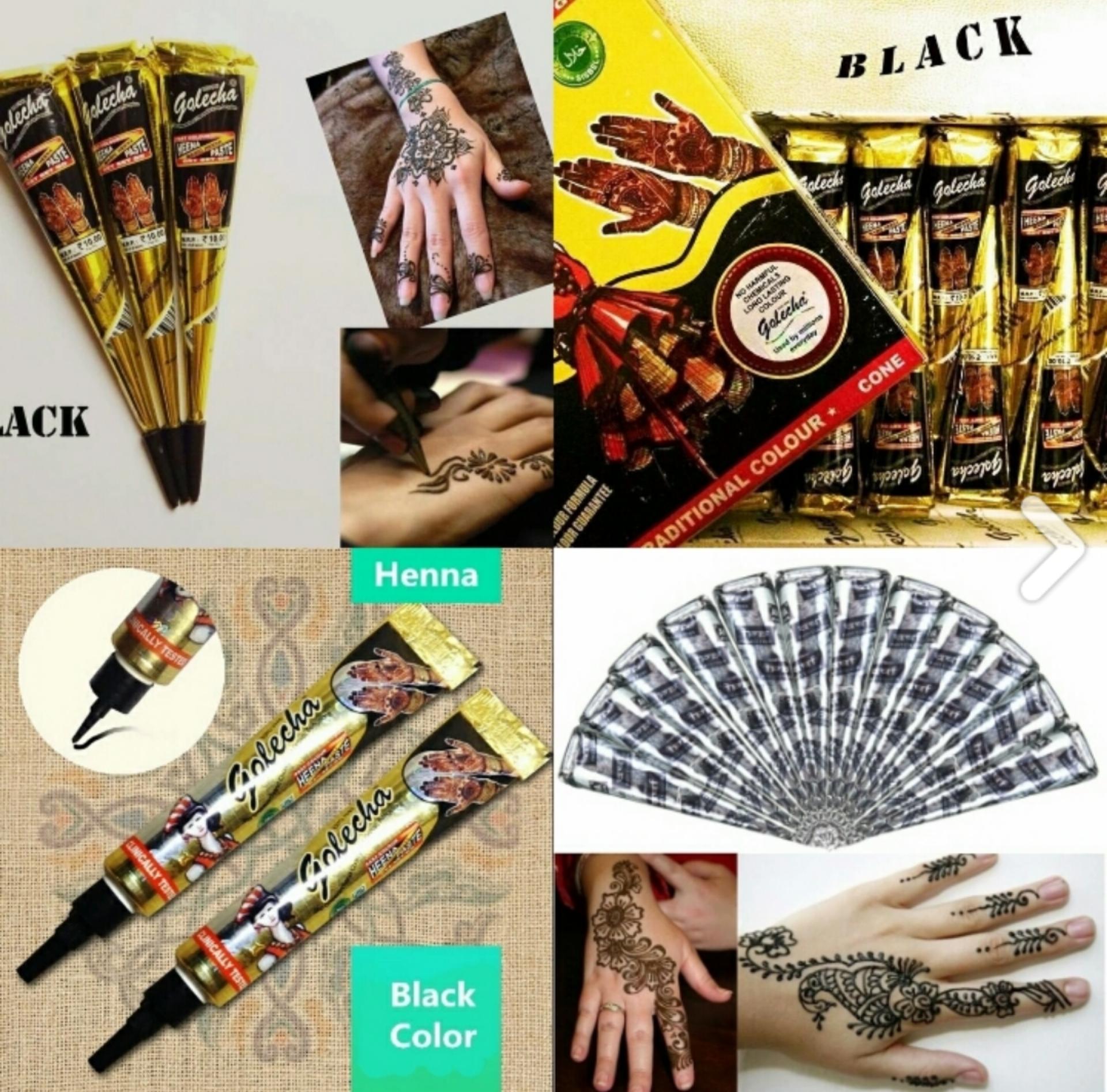 黒いヘナタトゥーよく染まる 安い 早い トラブル こちらのパッケージに注意