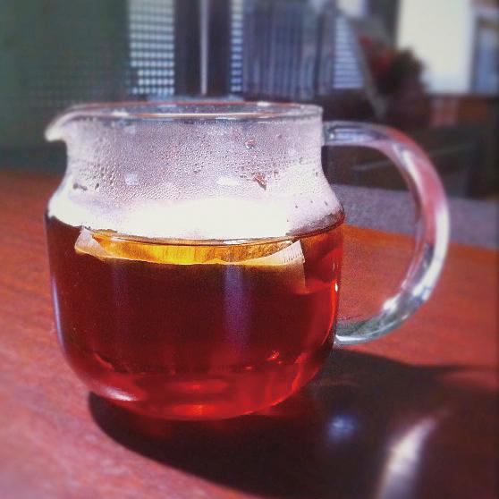 ほうじ茶の成分「ピラジン」がいいね!