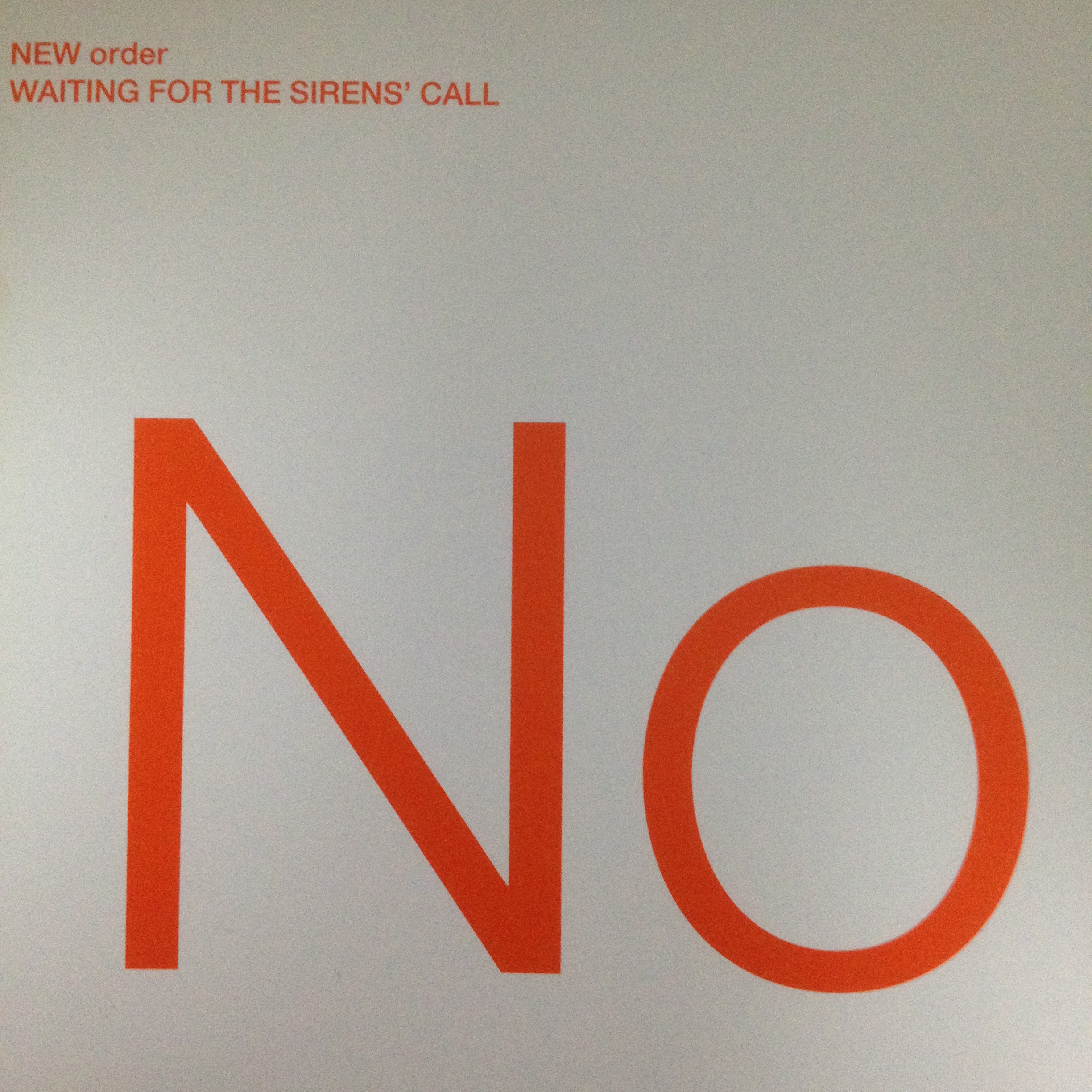 NEW ORDER 「HEY NOW WHAT YOU DOING」「WAITING FOR 」