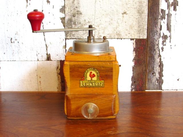ドイツ・アンティーク LEHNARTZ コーヒーミル/コーヒーグラインダー