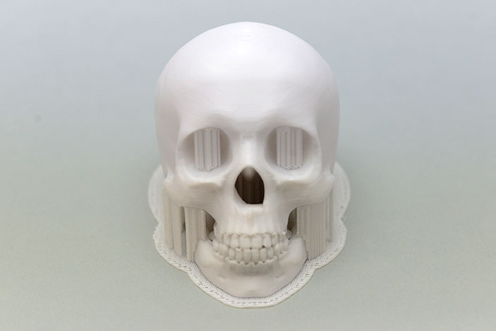 複雑な造形も剥がれやすいサポート材で快適完璧に!