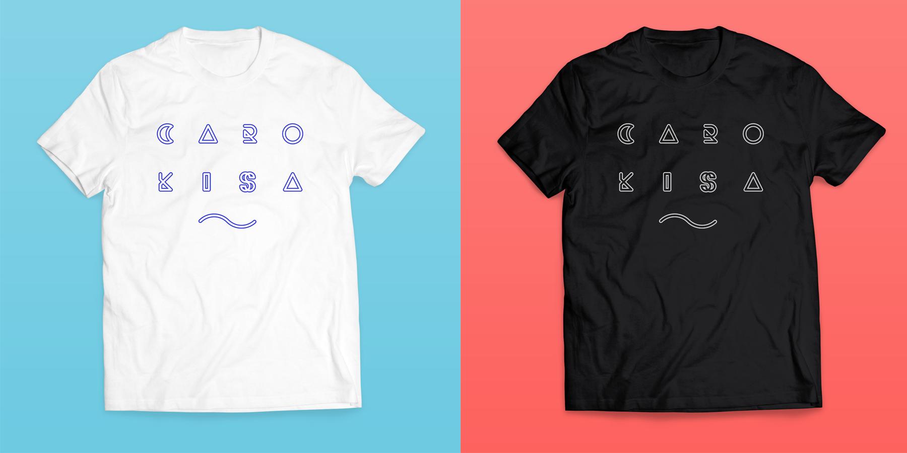 暑い夏にピッタリの「Caro kissa Tシャツ」!