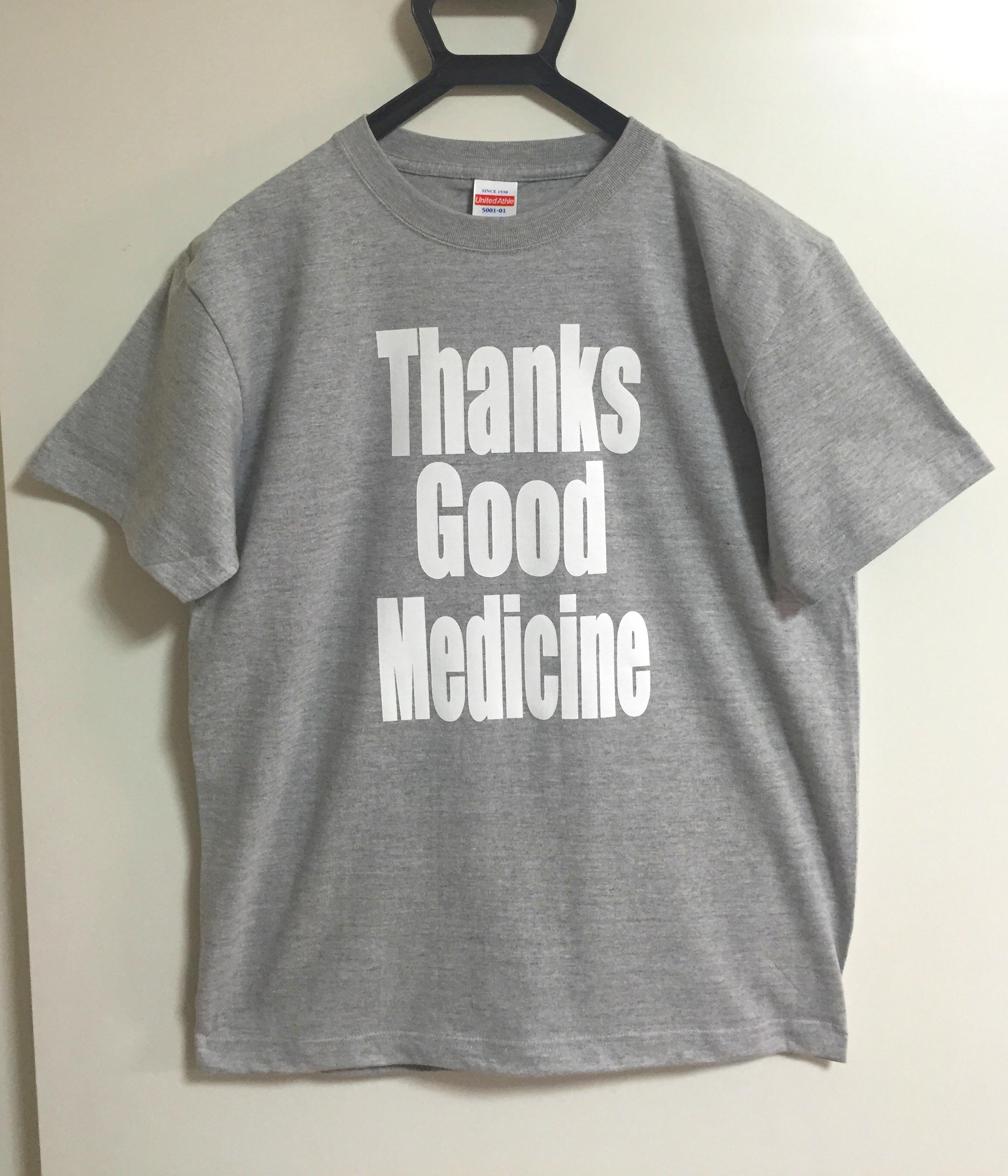いい薬Tシャツ ミックスグレーが残り僅かです。
