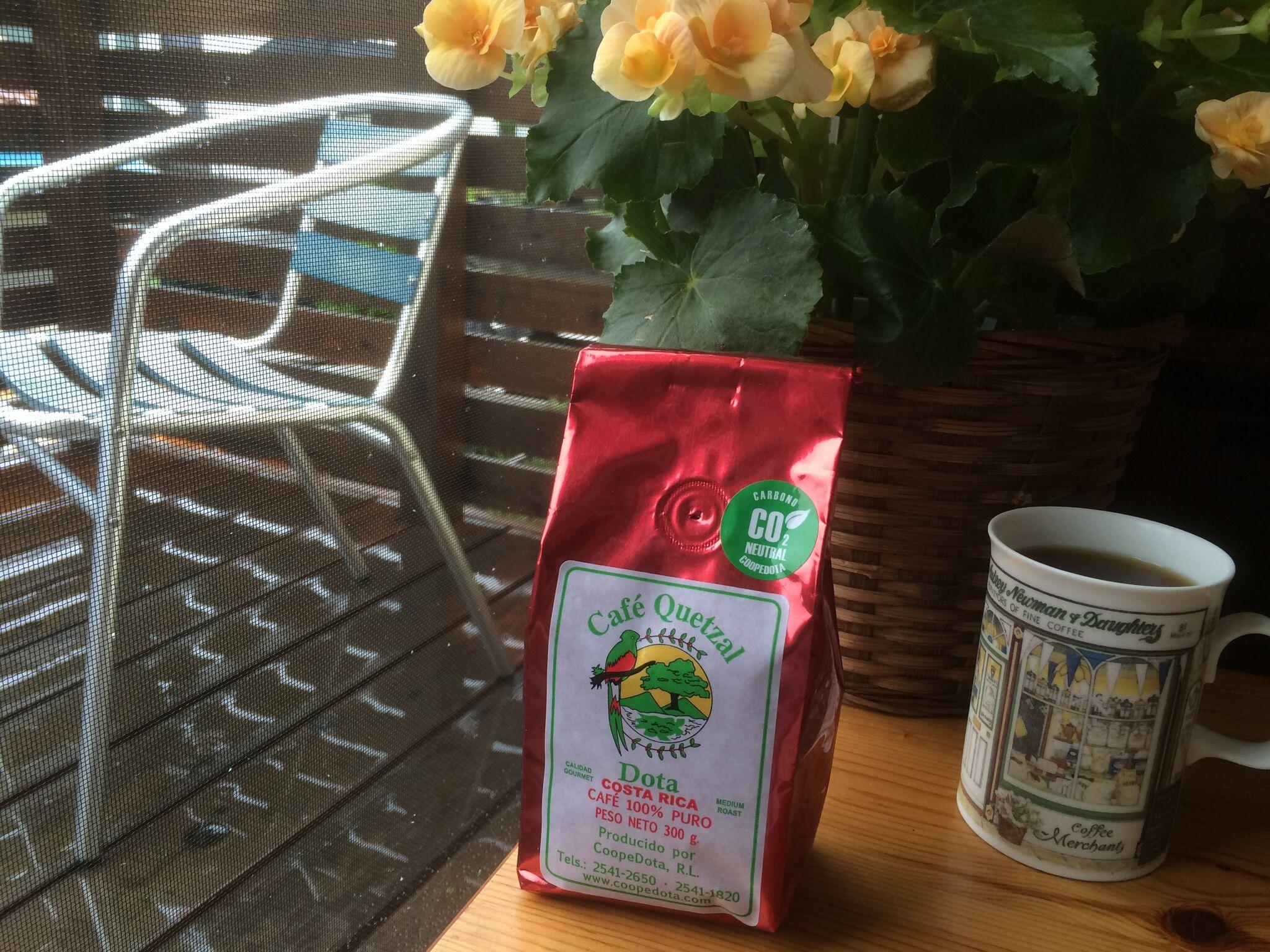 本日のコーヒー:カフェ・ドタ・ケツァール