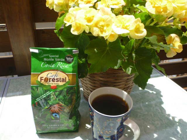 本日のコーヒー:カフェ・フォレスタル・スペシャル・モンテベルデ