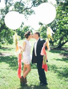 フリンジバルーンは海外の結婚式やパーティで大人気!