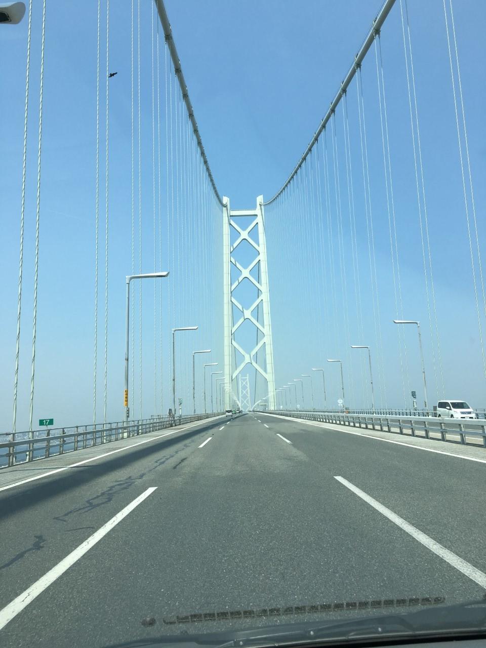 淡路島から大阪へ