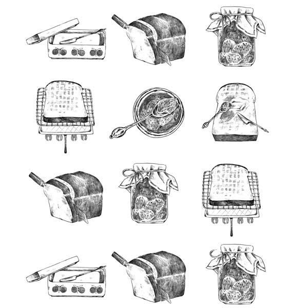 トーストの完璧な食べ方。