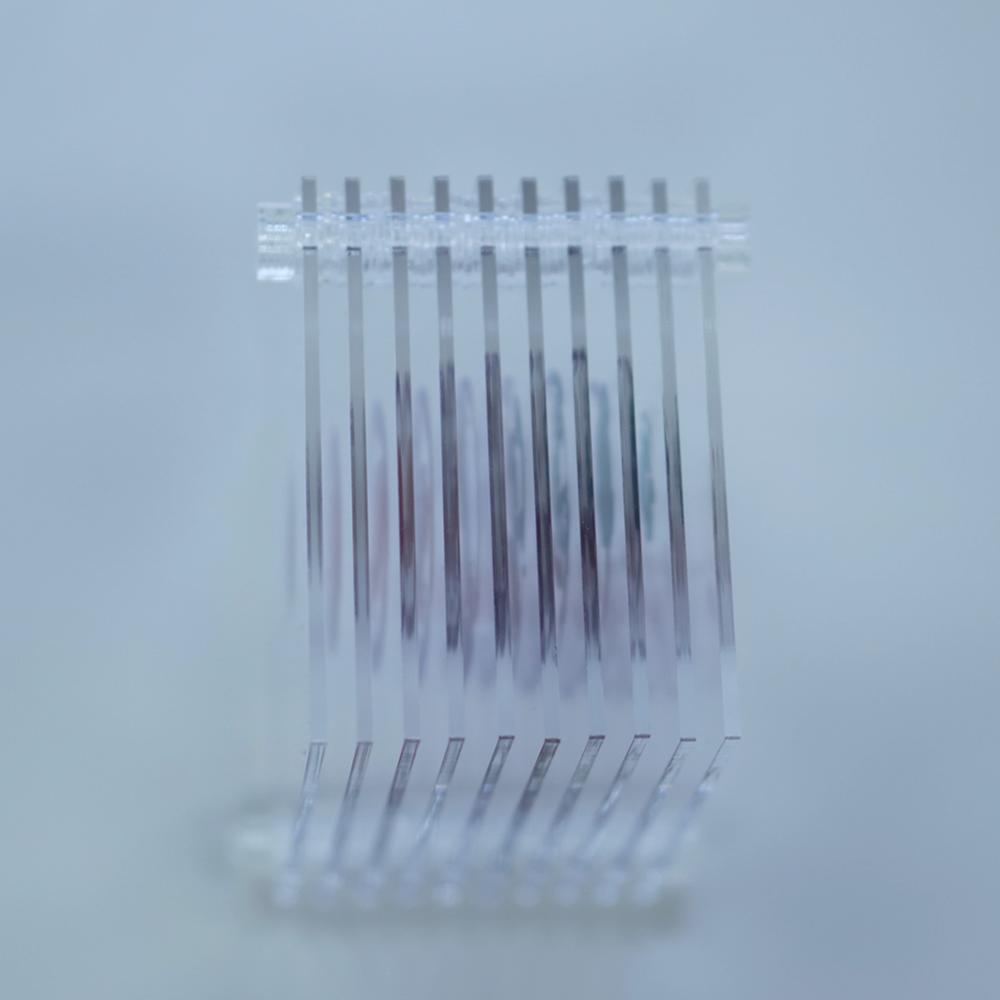 3D積層フィギュア ダンゴムシのネジタイプを色々な方向からみた様子