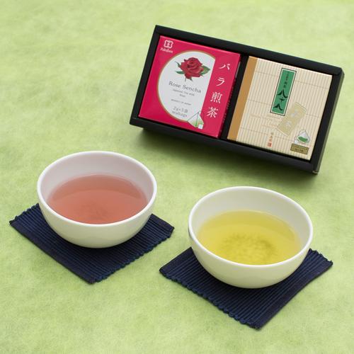 煎茶八十八 新茶&バラ煎茶セット