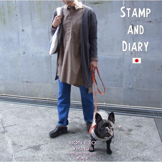 STAMPは「出発」「新しいスタート」、DIARYは「日々暮す日常」をイメージ