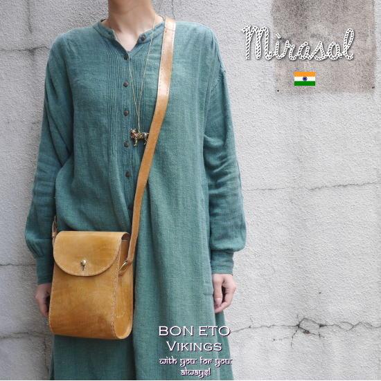 インド・Mirasolのレザーバッグ