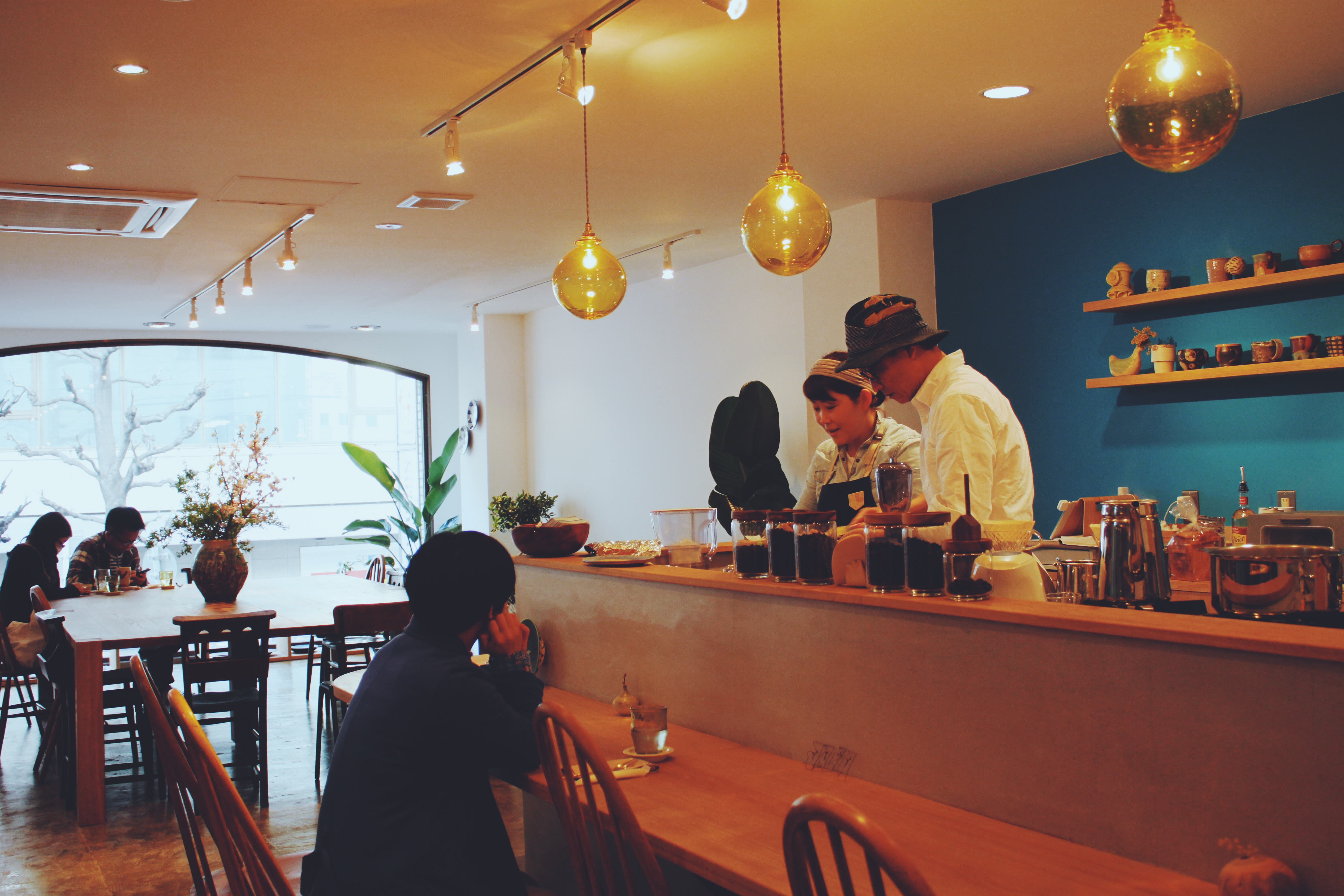 高槻にイマソラ珈琲さんがオープンされました。
