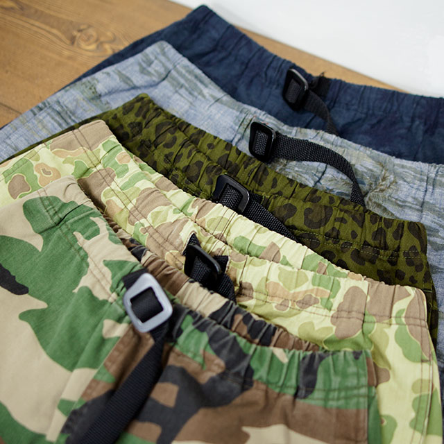 [NEW]COOCHUCAMP : Happy shorts pattern / 2016SS