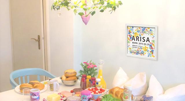 お部屋のテイストにあわせて飾れる誕生額(命名額)を販売する遊福YU-FUKUがOPENしました