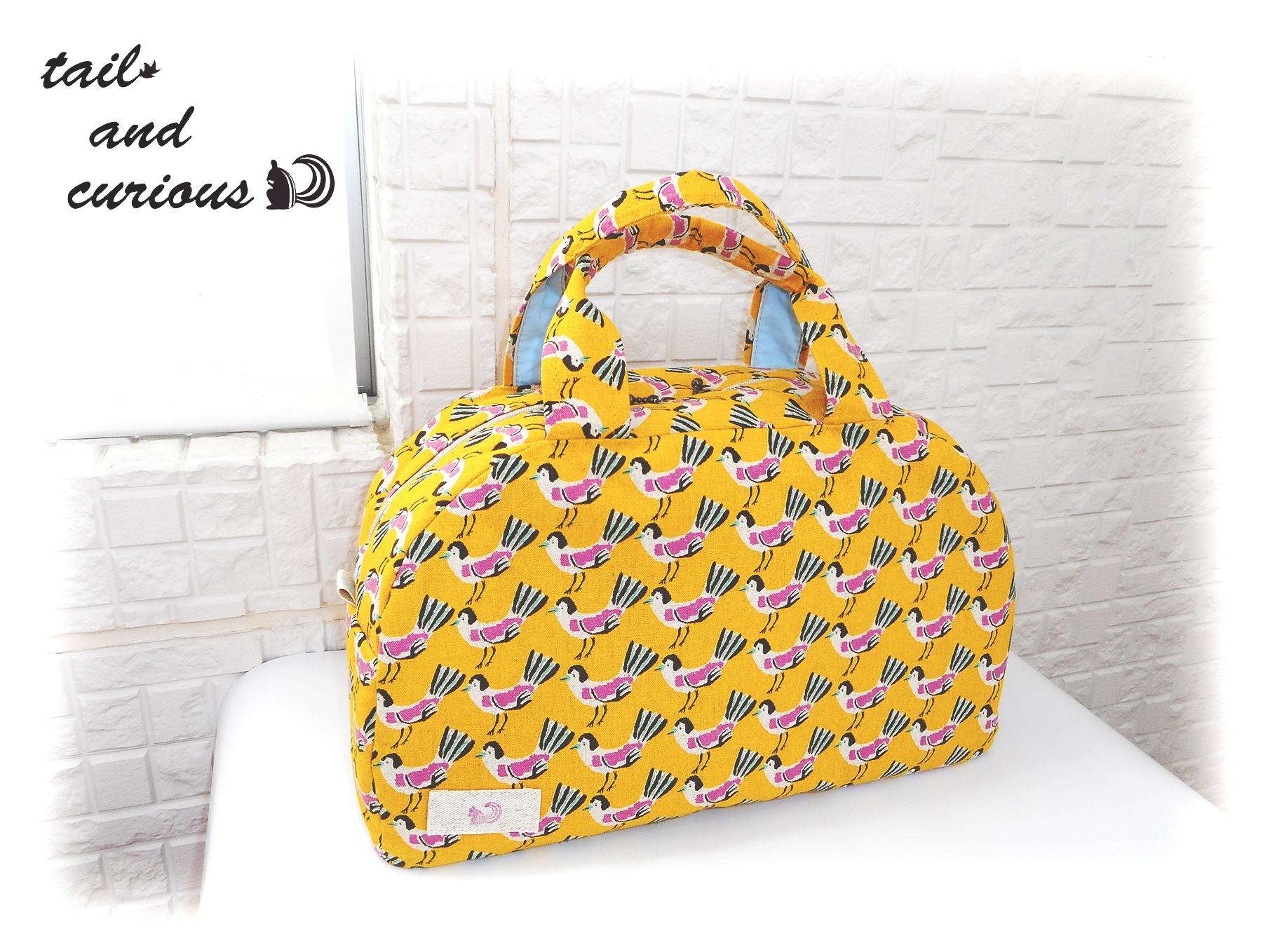 「お出かけに連れて行きたい鳥のボストンバッグ」に新色が登場しました!