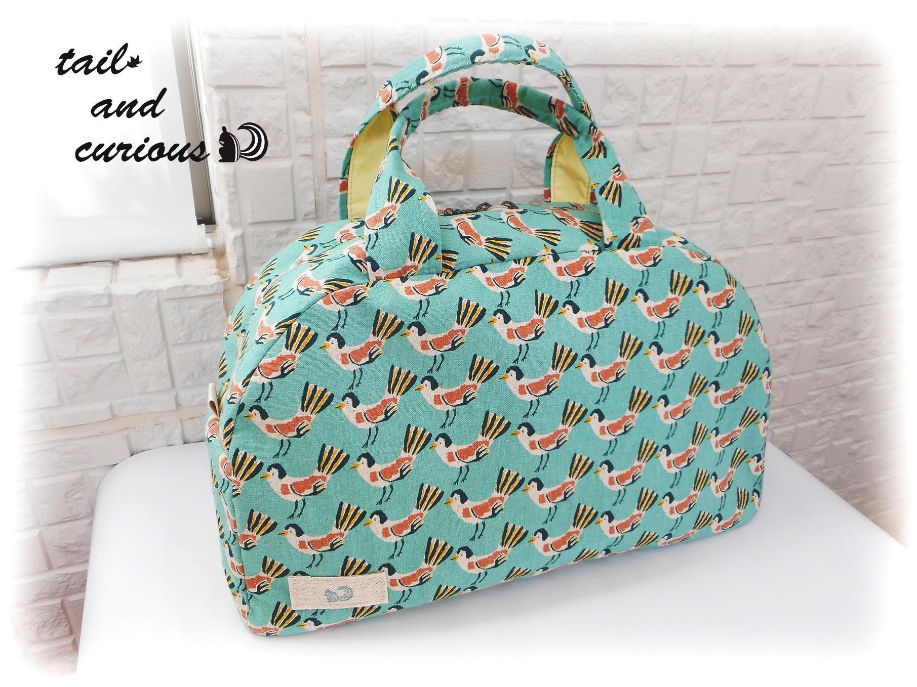 新商品「お出かけに連れて行きたい鳥のボストンバッグ」をUPしました!