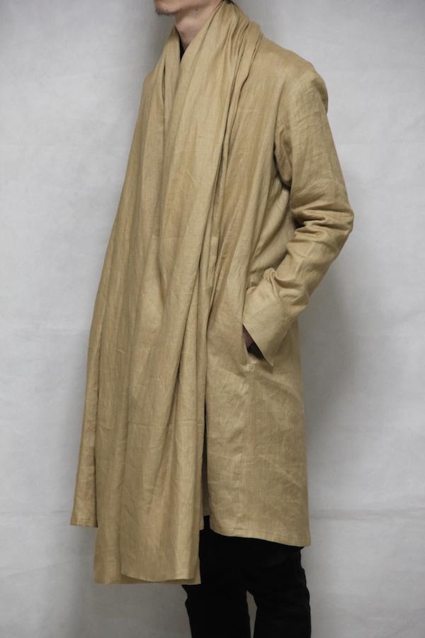162013 Stole Coat Beige