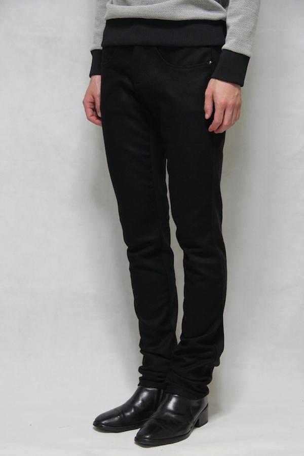 162010 Wool Switching Skinny Pants
