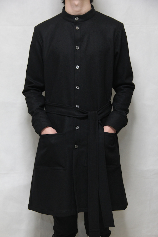 162011 Stretch Wool Shirt Coat