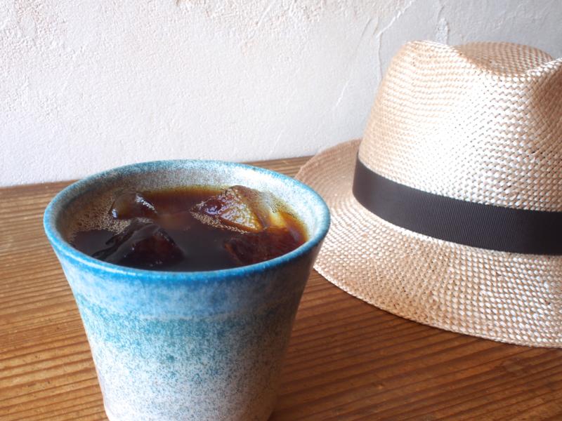 夏だけのお楽しみ「水出しコーヒー」はじまりました。